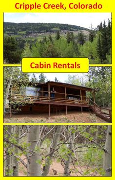 Cripple Creek cabin rentals - Bear Foot Getaway Cabin is a great choice for exploring Cripple Creek, Victor, Mueller State Park and the entire Pikes Peak area. Cripple Creek Colorado, Colorado Cabins, Colorado Springs, Places To Rent, Getaway Cabins, Pikes Peak, Cabin Rentals, State Parks, Road Trip