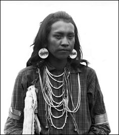 Michael, a young man on the Flathead Indian Reservation in western Montana. Photo taken between 1905 and 1907.