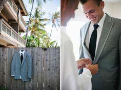 The groom shot