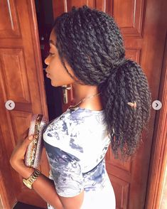 Image may contain: one or more people Natural Hair Transitioning, Long Natural Hair, Natural Hair Journey, Hair Twist Styles, Curly Hair Styles, Natural Hair Styles, Natural Afro Hairstyles, Fun Hairstyles, Hair Shrinkage