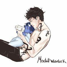 Alec & Max cute but...warlocks can't reproduce