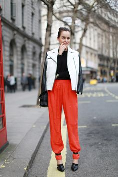 Jacket: Sandro  |  Pants: H Trend  |  Shoes: Alexander Wang  |  Bag: Proenza Schouler