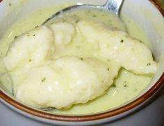 Different Recipes, Dumplings, Mashed Potatoes, Soup, Ethnic Recipes, Bab, Image, Whipped Potatoes, Smash Potatoes