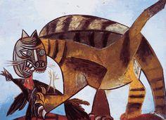 El MUNDO.... y los GATOS...: Pablo Picasso.