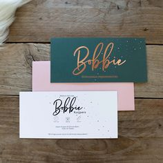 I love the color palette for these business cards. Salon Business Cards, Custom Business Cards, Business Card Design, Business Stationary, Clever Packaging, Print Packaging, Photography Business Cards, Photography Branding, Presentation Cards