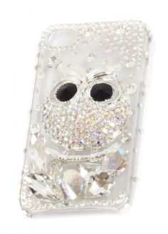 Image detail for -Owl Embellished Mobile Phone Cover | iPhone 4/4S Mobile Phone Covers ...