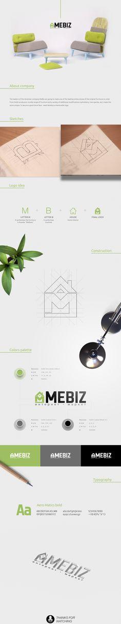 Create logo design for internet-market furniture - MeBiz.    #logo #logos…