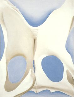 """'Pelvis' series By Georgia O'Keefe, powerful personality in American Modernism movement. Georgia O'keefe Art, Georgia On My Mind, Georgia O Keeffe Paintings, Picasso Paintings, Oil Painting Reproductions, Art Institute Of Chicago, Community Art, American Artists, Artsy"