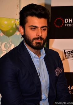 Hottest beard in Bollywood? Fawad Khan spotted in yet another handsome avatar. via Voompla.com