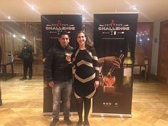 Nuestra Directora Veronika Bown con el ganador y su gran creación que lo hizo triunfar