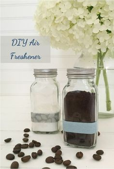 DIY An Air Freshener Using Coffee Grounds