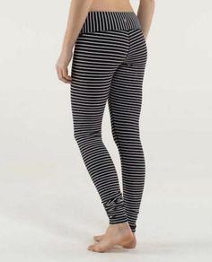 e0ff4b0796d9 RARE Lululemon NWT Wunder Under Pants Parallel Stripe Black White size 6   fashion  clothing