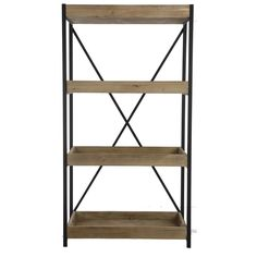 Accessories U0026 Furniture,Enticing Metal And Wood Bookcase For Small Room  Decorating Furniture,Cool