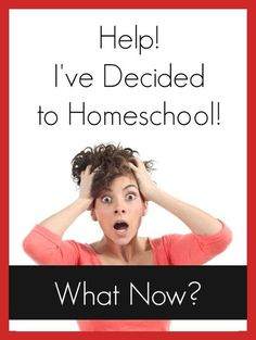 Help! I've Decided to Homeschool. What Now? - step by step instructions for beginning your homeschool journey from @mbream