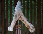 Wind Chime, Driftwood, Olympic Peninsula, Natural Beach Stone, Stones, Windchime, Windchimes, Wind Chimes, Chime
