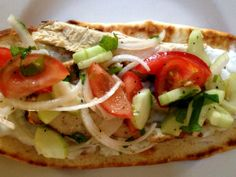 Chicken Gyros with Cucumber Salsa and Tsatsiki is light and refreshing ...