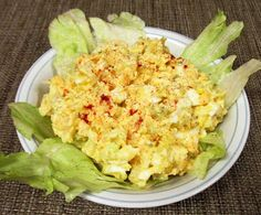 Healthy & Low Calorie: Cheesy Egg Salad