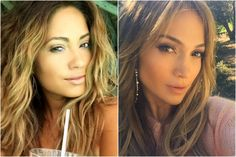 ¡Es IGUAL! Modelo sorprende con su parecido a Jennifer Lopez - IMujer