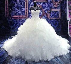 New white/ivory Mermaid lace Wedding Dress Custom Size 2-4-6-8-10-12-14-16-18 20 in Wedding Dresses | eBay
