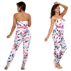 6f5c045452f Free jumpsuit , $47.00 by Semai house of fashion Cute Rompers, Jumpsuits,  Strapless Dress