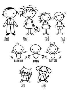 Stick drawing for kids doodle art doodle drawings easy drawings cartoon Doodle Drawings, Cartoon Drawings, Easy Drawings, Doodle Art, Drawing For Kids, Art For Kids, Machine Silhouette Portrait, Stick Figure Drawing, Doodle People