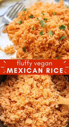 This easy Vegan Mexican Rice is a family favorite! This can be an Instant Pot rice recipe or a baked rice recipe - your choice! I include instructions for both. This vegan side dish is full of amazing flavor with just a few simple ingredients. It comes out tasty and fluffy every time, and it's super easy to make. If you're looking for a new rice side dish, or a new vegan instant pot rice recipe, to add to your recipe arsenal, you've got to try this! Rice Side Dishes, Vegetarian Side Dishes, Healthy Side Dishes, Side Dishes Easy, Side Dish Recipes, Food Dishes, Vegetarian Mexican, Healthy Sides, Veg Recipes