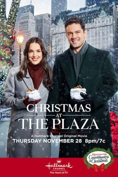 Its a wonderful movie your guide to family and christmas movies on tv christmas at the plaza a hallmark channel countdown to christmas movie starring elizabeth henstridge ryan paevey bruce davison and julia duffy! home family hallmark channel Hallmark Channel, Hallmark Weihnachtsfilme, Hallmark Holiday Movies, Family Christmas Movies, Family Movies, New Movies, Good Movies, Christmas 2019, Christmas Countdown