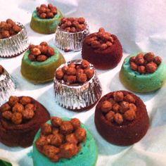 Dog Bowl Cupcakes fo