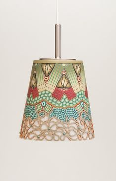 Fantastic use of canes in this light fixture. Emily Squires Levine