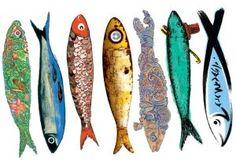 "lisbon sardines    During June @ ""Santos populares"" traditional festivities"