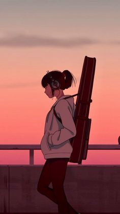 Cartoon Wallpaper, Wallpaper Animé, Anime Scenery Wallpaper, Sunset Wallpaper, Power Wallpaper, Batman Wallpaper, Wallpaper Quotes, Guitar Wallpaper Iphone, Cute Anime Wallpaper