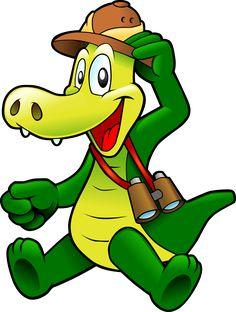 Mufy das Gutschein Krokodil