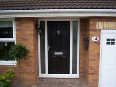 And durability is the factor, where composite doors steal the advantage. These doors are also cheap compared to wooden doors. Wooden Front Doors, Glass Front Door, Glass Door, Porch Extension, Side Extension, Composite Front Door, External Doors, House Doors, Front Entrances