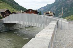 Vals, Brücke, Jürg Conzett 2008-2009