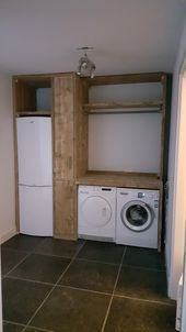 "Find out more details on ""laundry room storage small cabinets"". Look into our web site. Laundry Room Organization, Laundry Room Design, Laundry Room Lighting, Laundry Room Inspiration, Small Laundry, Storage Room, Storage Ideas, Home Deco, House Design"