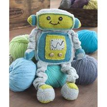 Remy Robot- Free Weekly Patterns- WillowYarns.com