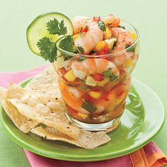 Tex-Mex Shrimp Cocktail  Fiery jalapeno pepper jelly adds a sweet kick to this variation on classic shrimp cocktail. The jelly, lime juice, ...