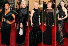 Black is the new black at the Met Costume Gala