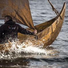 """370 Likes, 4 Comments - Viking Ship Museum in Roskilde (@vikingshipmuseum) on Instagram: """"The series of test sailings carried out after Gisle's launch last year raised a number of questions…"""""""