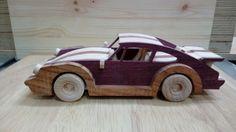 Wooden Porsche 911 Turbo