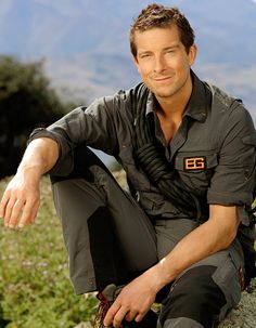 Bear Grylls. List of interesting things about him at the link.