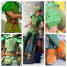 Peter Pan Costume details Friend Costumes, Diy Costumes, Adult Costumes, Halloween Costumes, Costume Ideas, Peter Pan Kostüm, Peter Pan Party, Disfraz Peter Pan, Peter Pan Halloween