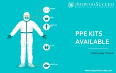 Personal Protective Equipment or PPE kit is designed to shield and protect the wearer against various harmful viruses, bacteria, and infections. Wearing a PPE kit helps prevent any kind of bodily contact with these infectious agents or body fluid. #ppekits #ppes #personalprotectiveequipment #covid19prevention #covid19products #bestqualityproduct #protect #ppe #medicalequipments #safetygear #protection #safetyequipment #safetysolutions Body Fluid, Baby Animals, Clinic, Success, Branding, Kit, Marketing, Writing, Brand Management