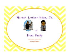 Martin Luther King, Jr and Rosa Parks Civil Rights Leaders from Jkaitie from… Autism Education, Autism Classroom, Special Education Classroom, Classroom Resources, Teacher Wish List, Special Ed Teacher, Martin Luther Jr, History Lesson Plans, Vocabulary Practice