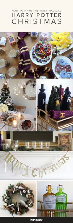 How to Have the Most Magical Harry Potter Christmas Ever