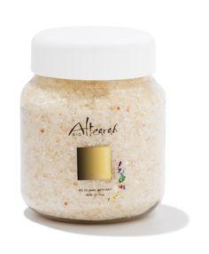 Sale da Bagno Oro. Per combattere lo stress.#profumo  #bio #oro #cromoterapia #cosmetica #altearah #salidabagno #salehimalaya #aromaterapia