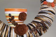 Kranz Kaffeklatsch Kaffee Muttertag  25cm von Schnuffelinis auf Etsy,
