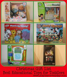 Play & Learn Everyday: Christmas Gift List - Best Educational Toys for Toddlers