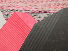 """Cascades"" by Misato Suzuki 2011 18"" x 24"" Acrylic on Canvas"