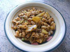 Ingredientes:      Ají de Fideo    ¼ Kg. de carne molida   3 Tazas de la pasta o  fideos  de tu preferencia (tamaño pequeño o mediano)  ...